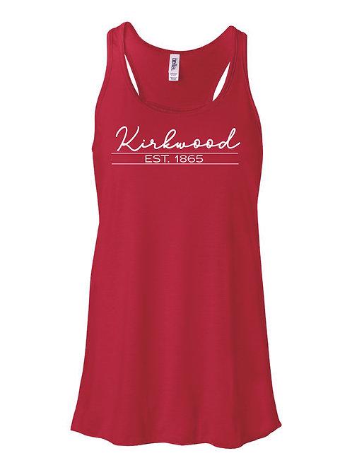 Kirkwood RED Women's Flowy Racerback Tank