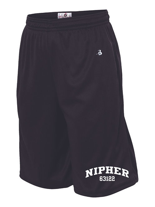 Nipher Black Boys Shorts