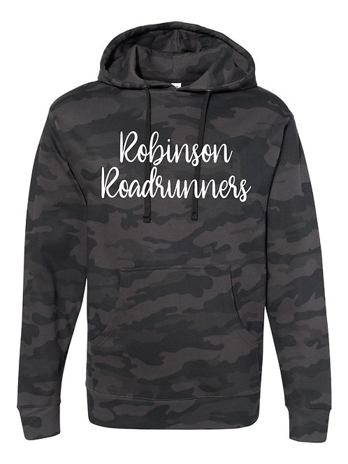 ROBINSON BLACK CAMO Independent Trading Co. - Midweight Hooded Sweatshir