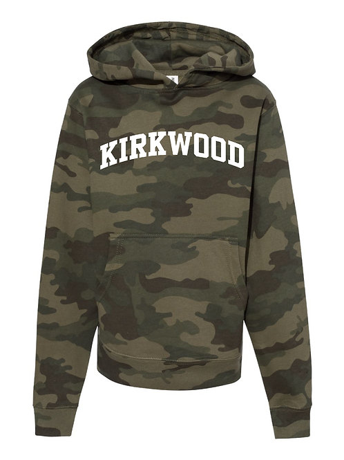KIRKWOOD FOREST CAMO Independent Trading Co. - Midweight Hooded Sweatshirt