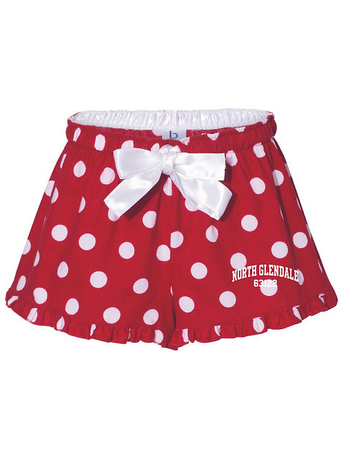 NG Red Women's/Girl's Bitty Boxer