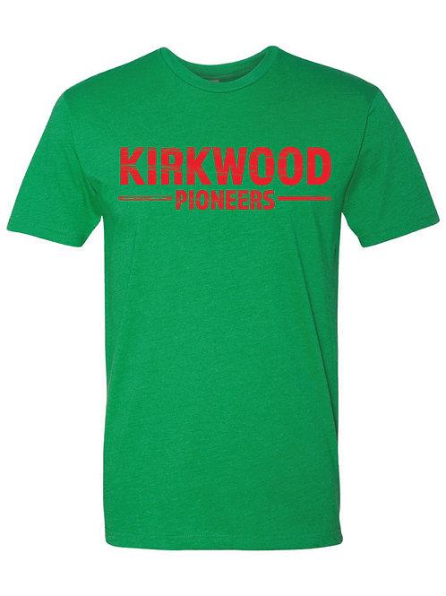 KIRKWOOD Green Next Level - CVC Short Sleeve Crew