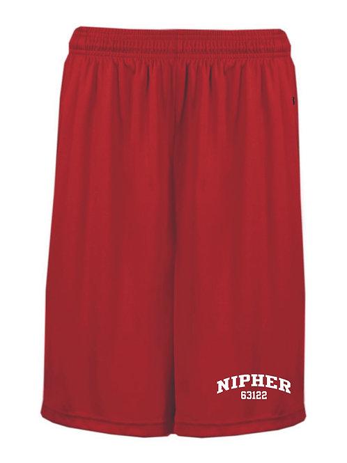 Nipher Red Boys Shorts