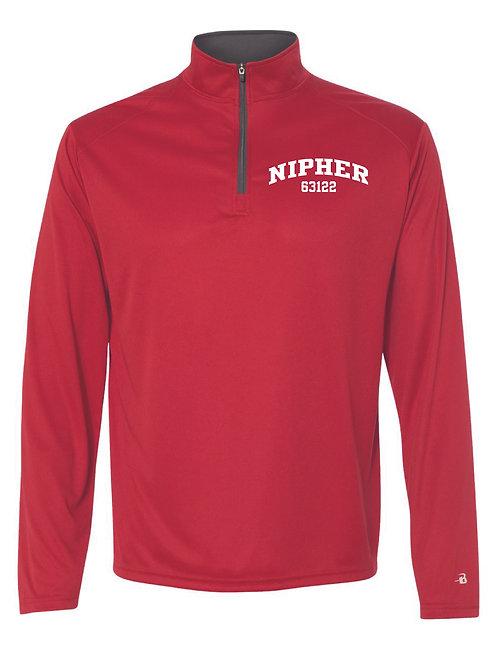 Nipher RED Men's Athletic 1/4 Zip