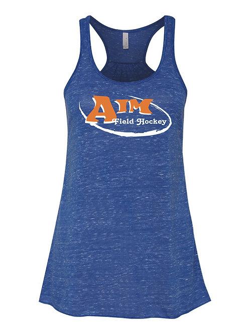 Aim Blue Flowy Tank Top