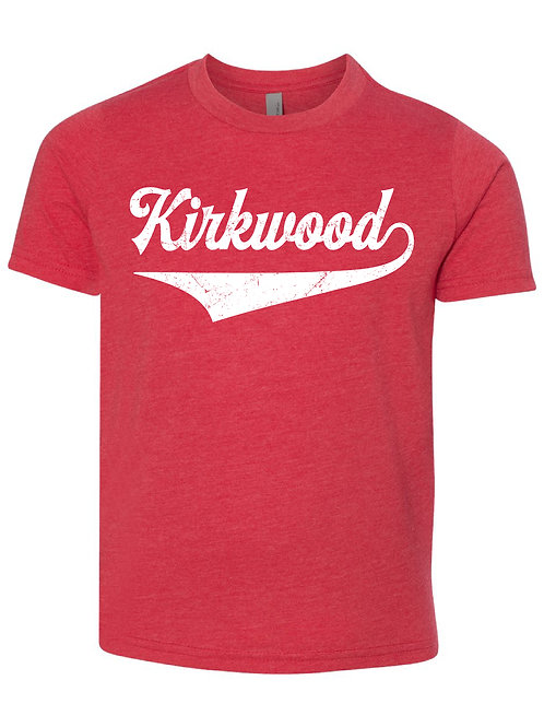 KIRKWOOD RED Next Level - CVC Short Sleeve Crew