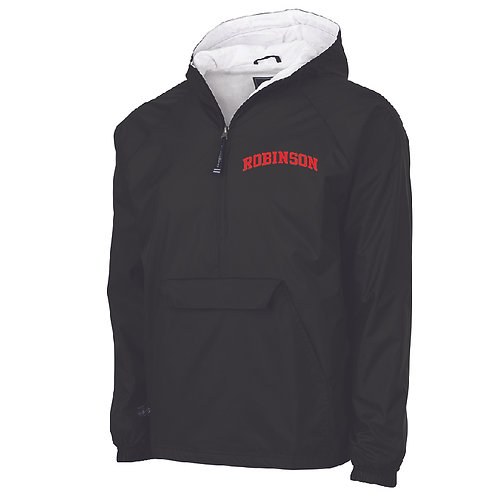 Robinson Black Classic Lined Pullover
