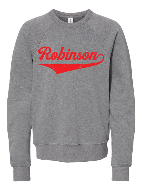 ROBINSON GRAY BELLA + CANVAS - Unisex Sponge Fleece Raglan Sweatshirt