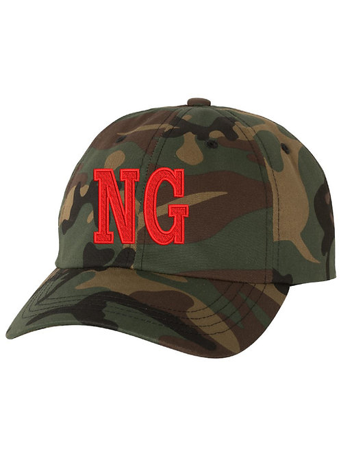 NORTH GLENDALE Embrodiered Camo Hat