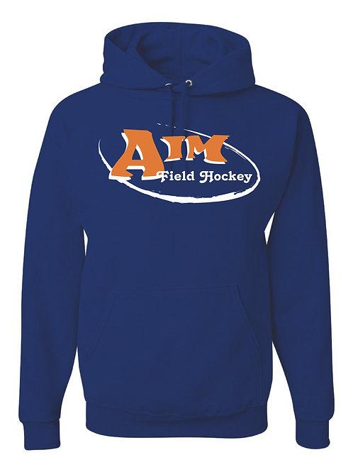 Aim Blue Hooded Sweatshirt