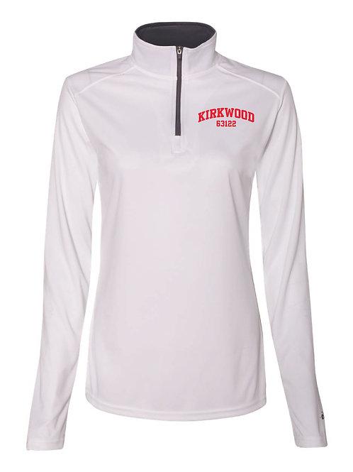 KIRKWOOD White Women's Athletic 1/4 Zip