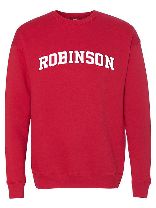 ROBINSON RED BELLA + CANVAS - Unisex Sponge Fleece Raglan Sweatshirt