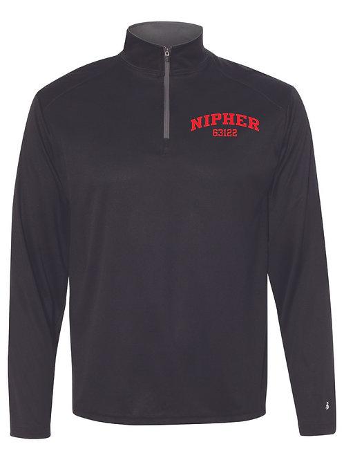Nipher BLACK Men's Athletic 1/4 Zip