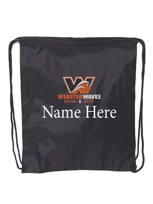 Webster Waves Black Backpack