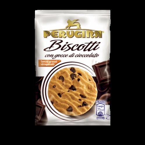 Perugina Biscotti con Gocce di Cioccolato - Confezione da 5 pz