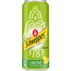 Lattina sleek Schweppes Limone 33 cl - Confezione da 5 pz