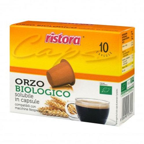 Orzo Biologico Ristora Nespresso Compatibili - 10 Capsule