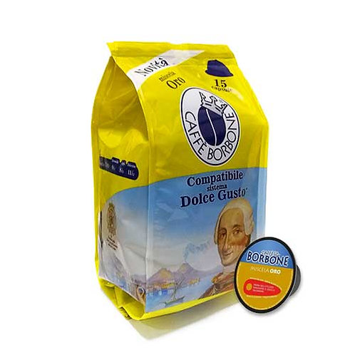 Miscela Oro Borbone Dolce Gusto Compatibile - 15 capsule