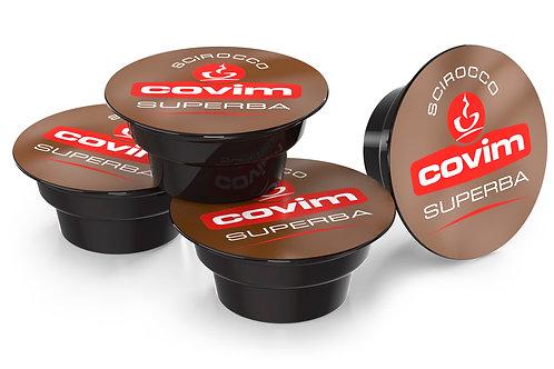Espresso Scirocco Superba Covim - 48 Capsule