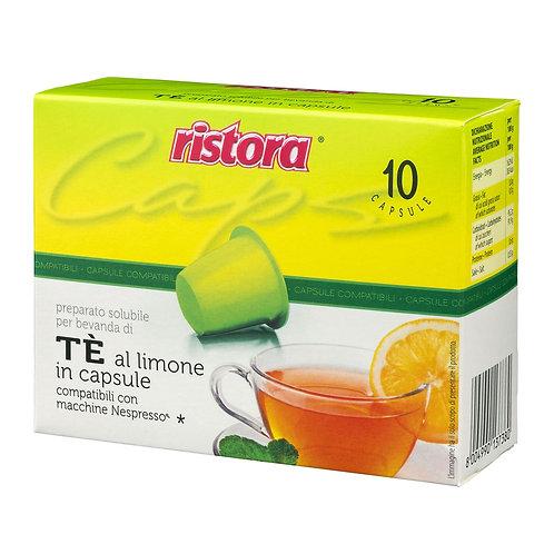 Thè al Limone Ristora Nespresso Compatibili - 10 Capsule
