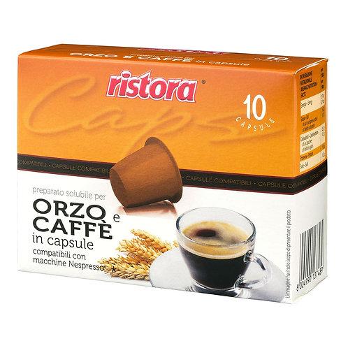 Orzo & Caffè Ristora Nespresso Compatibili - 10 Capsule