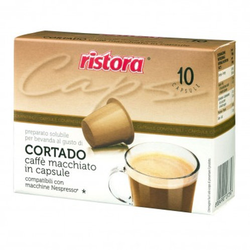 Cortado Ristora Nespresso Compatibili - 10 Capsule