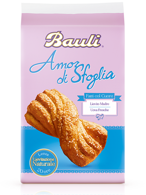 Treccina Bauli 40 gr - Confezione 6 pz