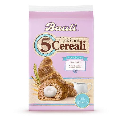 Croissant bauli 5 cereali al latte - Confezione 10 pz
