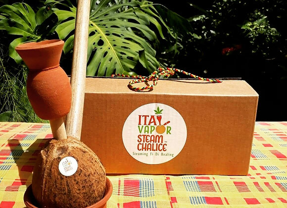 Coconut or Calabash Steam Chalice