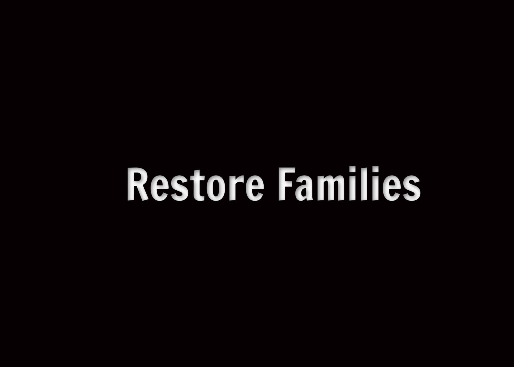 Restore Families