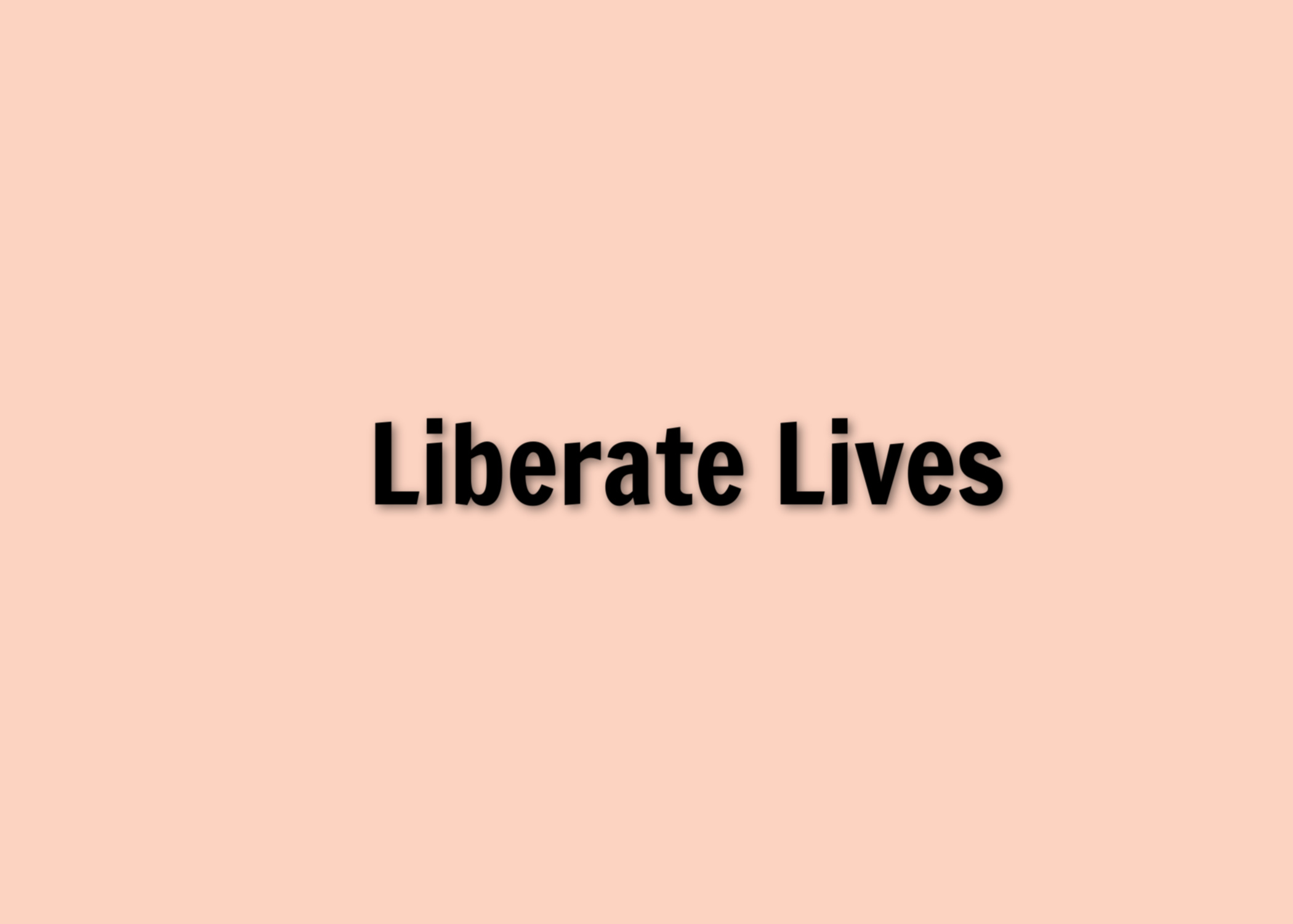 Liberate Lives