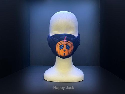 3D FACE MASK - HALLOWEEN PRINT