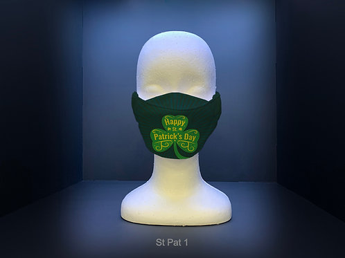 3D FACE MASK - ST PATRICK'S DAY