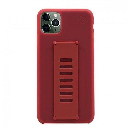 Grip2u iPhone 12, 12 Pro / SILICONE - Red
