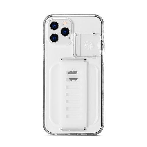 Grip2u iPhone 12, 12 Pro / BOOST Kickstand - Clear