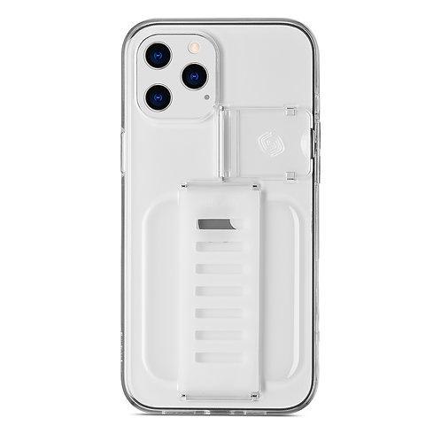 Grip2u iPhone 12 Pro Max / BOOST Kickstand - Clear