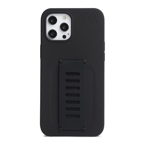 Grip2u iPhone 12 Pro Max / SILICONE - Charcoal