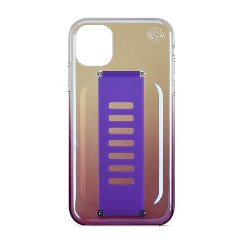 Grip2u iPhone 11 / SLIM - Iridescent Raven