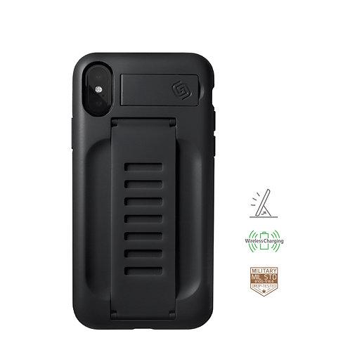 Grip2u iPhone X, Xs / BOOST Kickstand - Charcoal