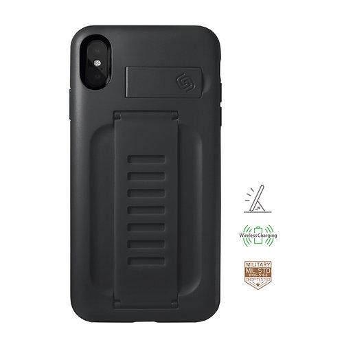 Grip2u iPhone Xs Max / BOOST Kickstand - Charcoal