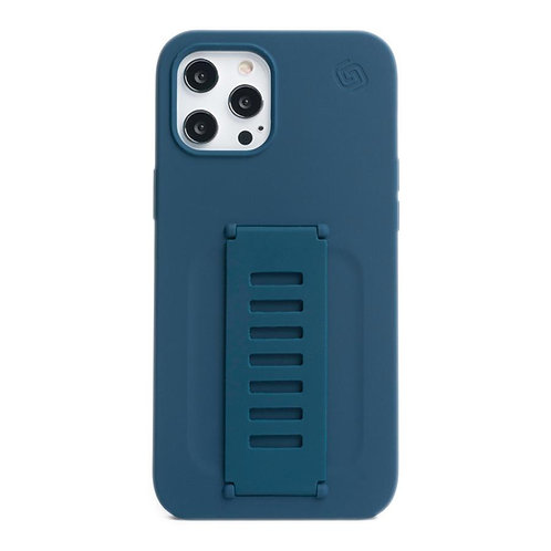 Grip2u iPhone 12 Pro Max / SILICONE - Navy