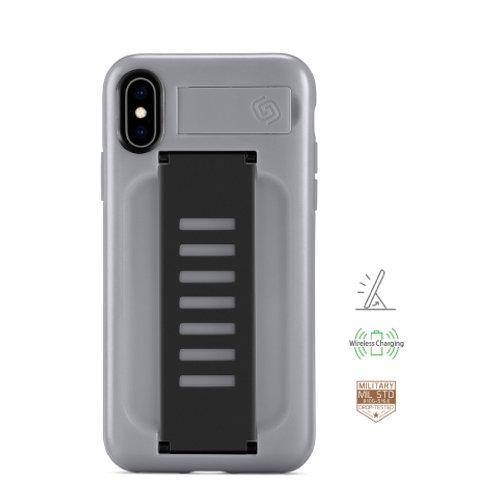 Grip2u iPhone X, Xs / BOOST Kickstand - Dark Moon
