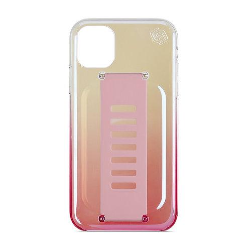 Grip2u iPhone 11 / SLIM - Iridescent Flamingo