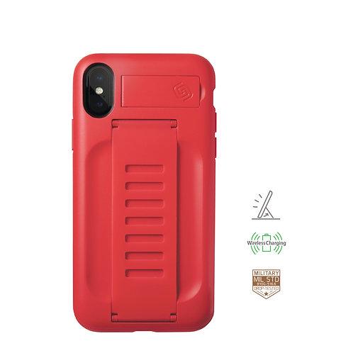 Grip2u iPhone X, Xs / BOOST Kickstand - Ruby