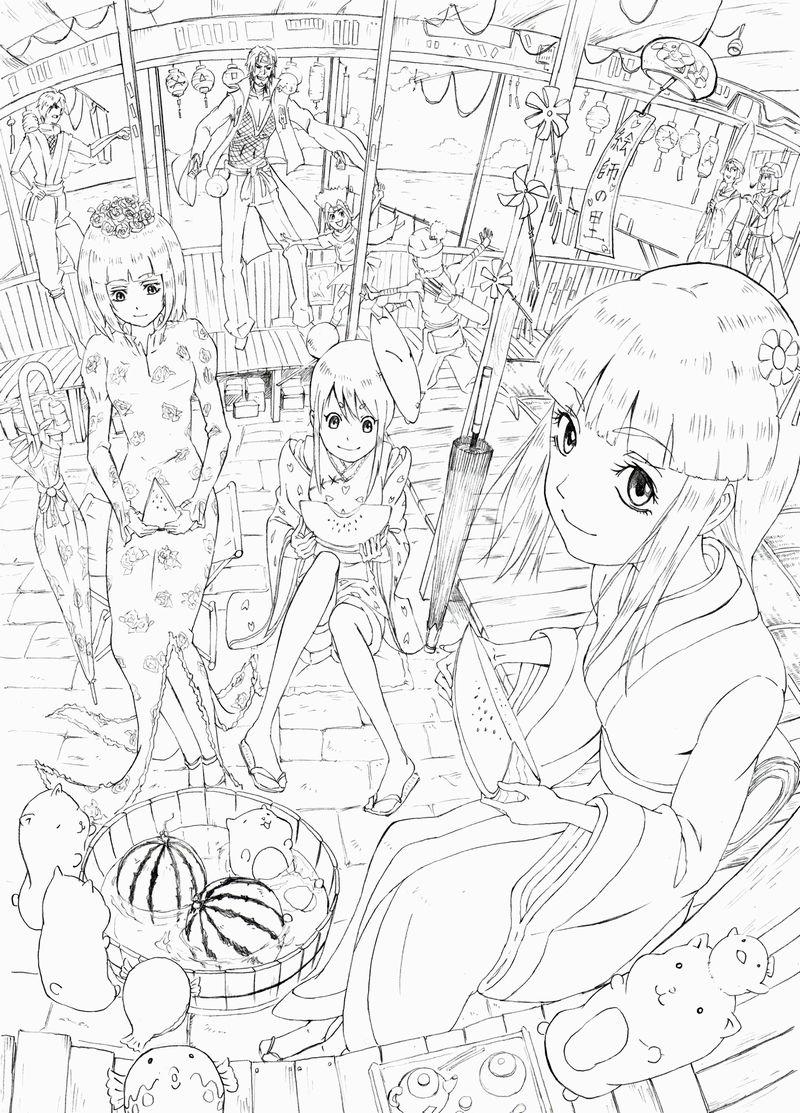 絵師の里漫画(二)