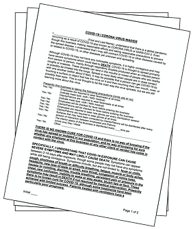COVID-19 Liability Waiver
