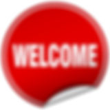 welcome-round-red-sticker-isolated-on-wh