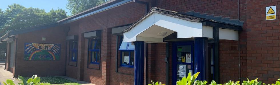 Main school entrance
