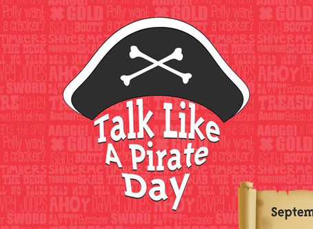 Assembly: Talk Like a Pirate Day 18.9.18