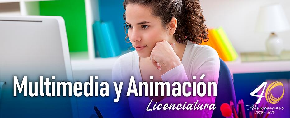 Licenciatura Multimedia y Animacion 2020